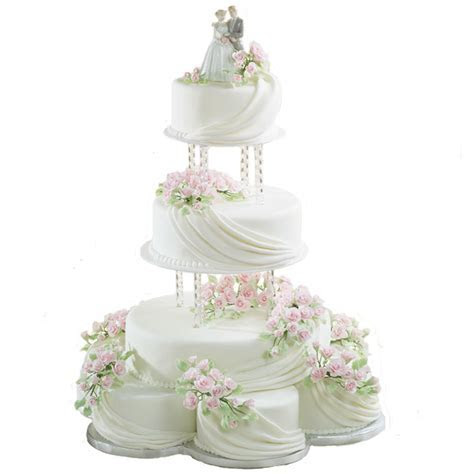 Romantic Ripples Cake   Wilton