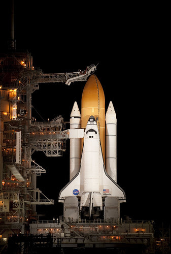 STS-129 Atlantis on Pad 39a (200911150016HQ)