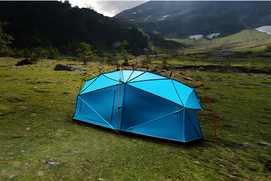 This tent has a shocking secret that could keep you alive in a storm