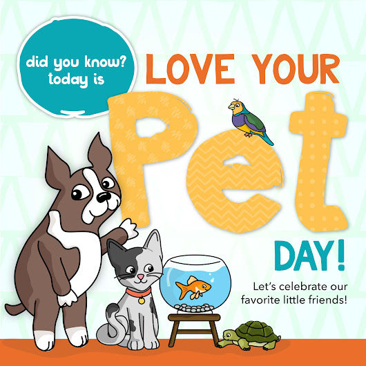Studio Monday with Nina-Marie: Love Your Pet Day! - Simon Says Stamp Blog