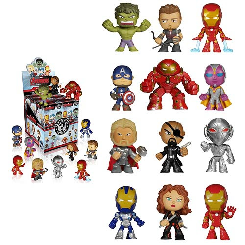 Previews of the Avengers: Age of Ultron Farbrikations, Mystery Minis, Pop! Keychains