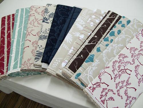 latest array of fabrics