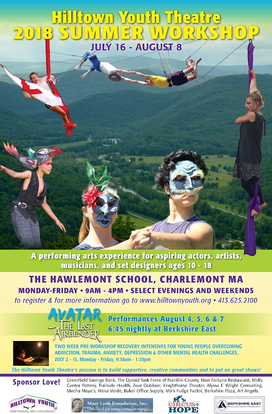 Hilltown Youth Theatre Summer Workshop 2018 | Charlemont, MA