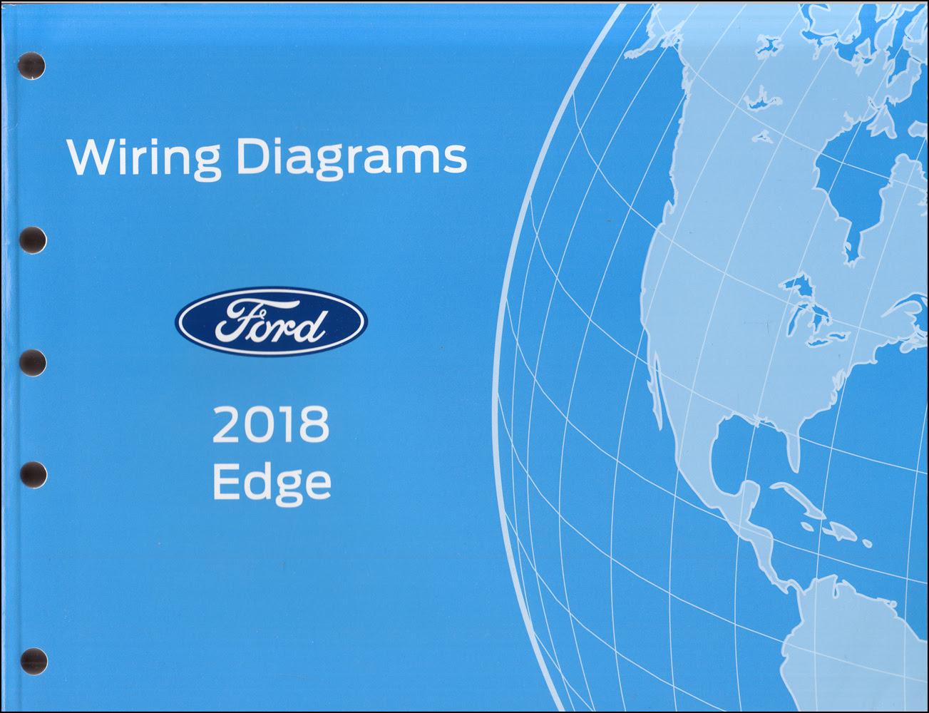 2018 Ford Edge Wiring Diagram Manual Original