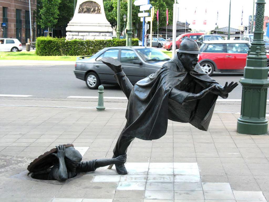 25 esculturas e estátuas criativas de todo o mundo 13