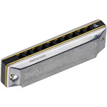 professional key of bb 10 holes blues harmonica mouthorgan copper harmonicas with storage box for beginners students