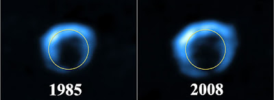 Expansión de la remante de supernova G1.9+0.3 desde 1985