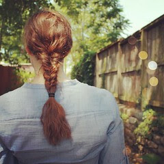 Today's herringbone braid - #hair #braid