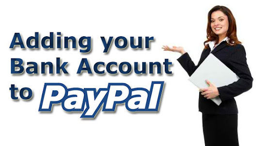 How to add your bank account to PayPal
