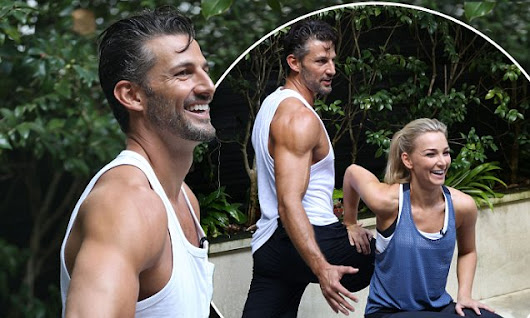 The Bachelor's Tim Robards and Anna Heinrich share fitness tips