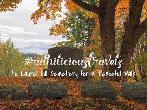 #ruthiliciousTravels to Laurel Hill Cemetery for a Peaceful Walk