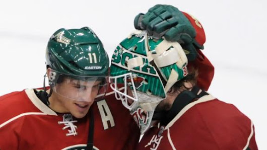 Parise, Harding lead as Wild thrash Flames