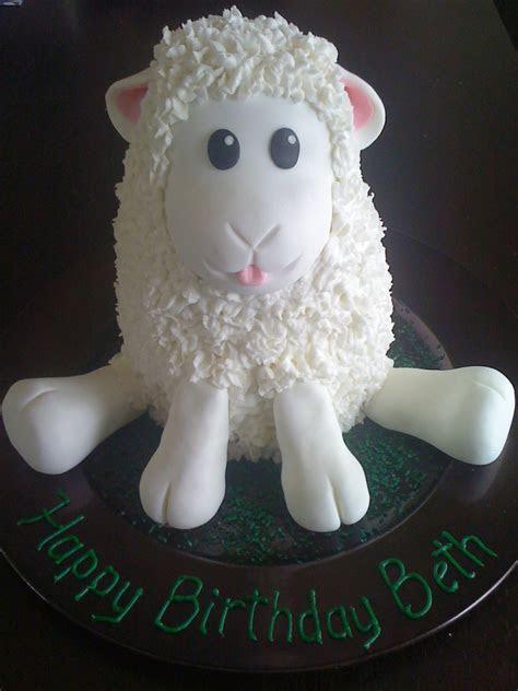 My Little Lamb cake   Cake Decorating Community   Cakes We