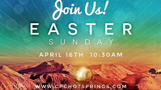 We invite everyone to join us this Sunday to celebrate the resurrection of our Saviour!