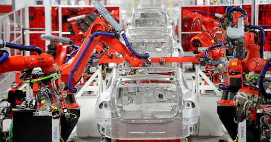 Tesla's Factory in a Fishbowl - WSJ