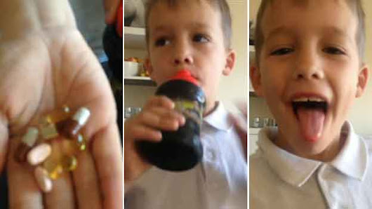 Cystic fibrosis boy's Facebook pills video gets 650,000 hits - BBC News