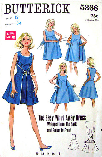 Butterick 5368 The Easy Whirl Away Dress
