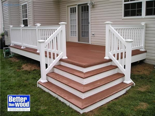 -love the cascading stairway. #deckplans | Home Inspection | Pinterest | Stairways, Front steps and Deck building plans