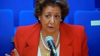 Rita Barberá durant la seva compareixença davant del tribunal (EFE)