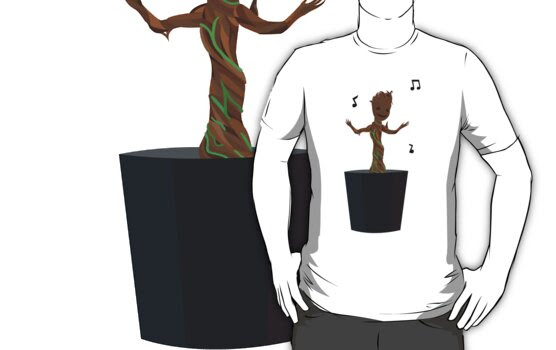 Groovy Groot by Vector  T-Shirts