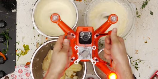 Learn How To Cook Thanksgiving Dinner With A Drone