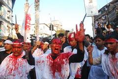 The Storyboard of Pain of the Shias of Mumbai by firoze shakir photographerno1