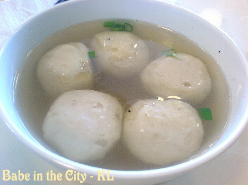RM - fish balls came with kueh teow dry style RM4