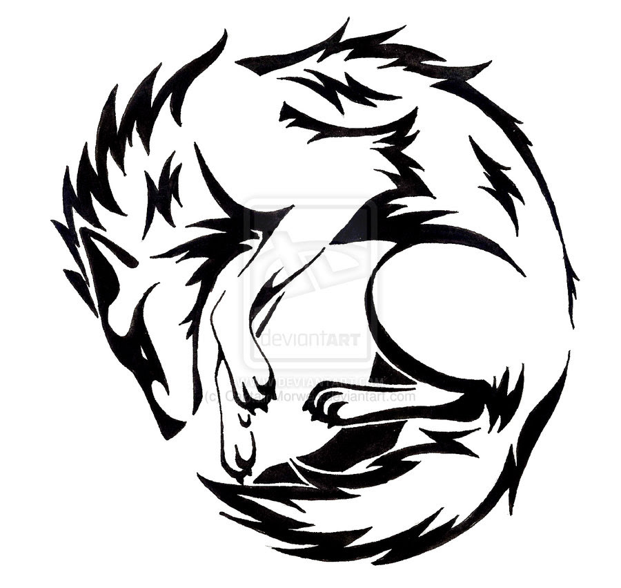Wolf Silhouette Tattoos At Getdrawingscom Free For Personal Use