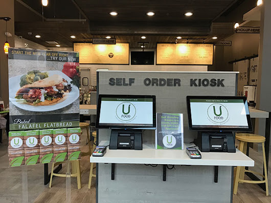 UFood Grill Debuts Facial-Recognition Kiosks - restaurant development + design
