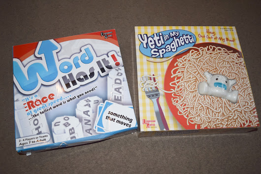 Word Has it! & Yeti in my Spaghetti Games Review - Serenity You