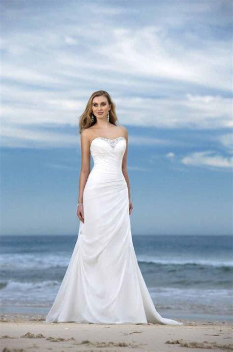 Informal Beach Wedding Dresses   Aelida