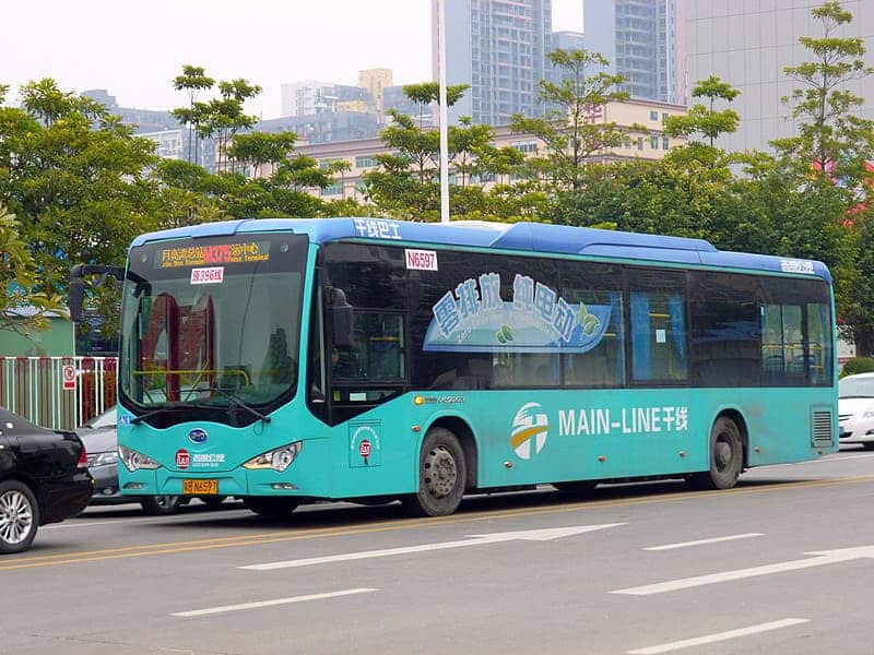 Image result for electric buses in china
