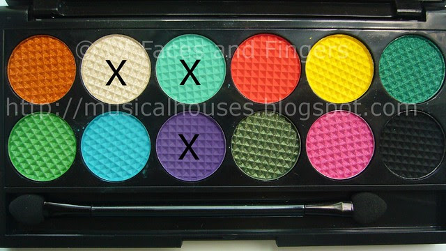 sleek curacao palette aqua purple eye look shades