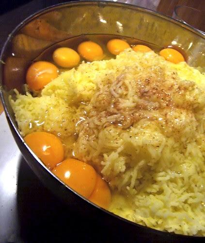 Potato dumplings in fieri