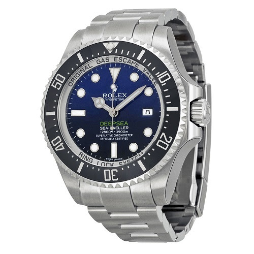 Rolex Sea Dweller Deepsea D-Blue James Cameron | Valuable watches