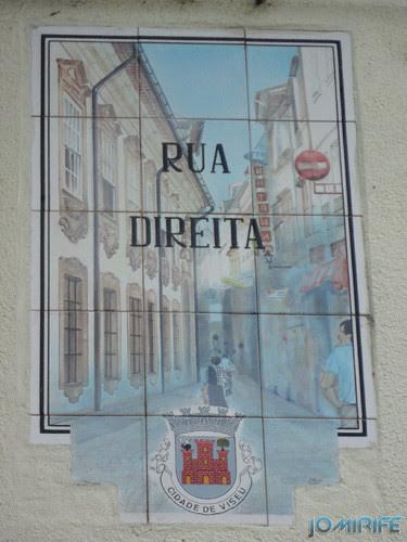 Viseu (13) Rua Direita - Mosaico [en] Viseu - Right Street - Mosaic