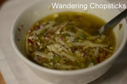 Spanish Radicchio Salad with Manchego Olive Vinaigrette 5