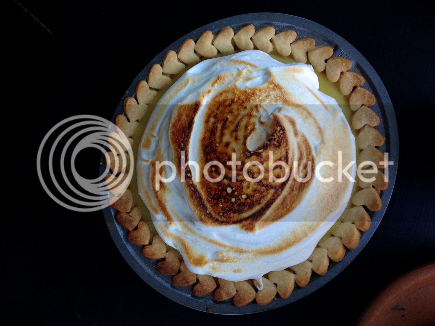 leaves and flours vegan Lemon Meringue Pie