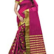 Perfectblue Cotton Silk Saree (Pb0Black Goli_Black): Amazon.in: Clothing & Accessories