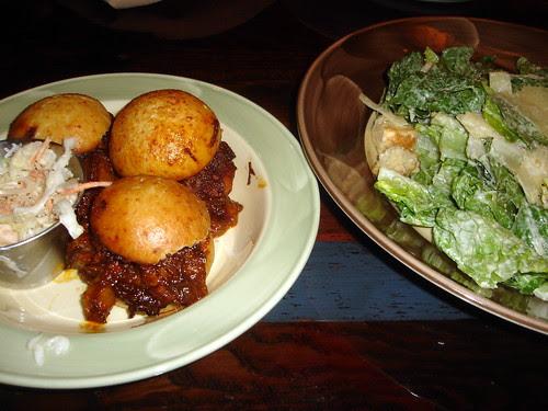 Brisket Sandwiches & Caesar Salad