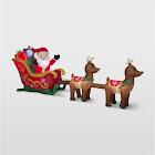 Airblown Inflatables Santa and Sleigh