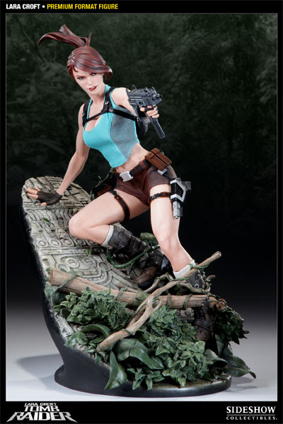 Exclusive Premium Format Lara Croft and the Guardian of Light figure from Sideshow Collectibles.