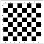 WE Games Mousepad Tournament Chess Mat, 20 inches