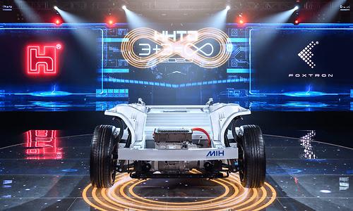 """""""Foxconn gaat 18 oktober eigen auto onthullen onder Foxtron-merknaam"""""""