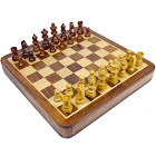 """House of Staunton Wooden Magnetic Travel Chess Set - 12"""""""