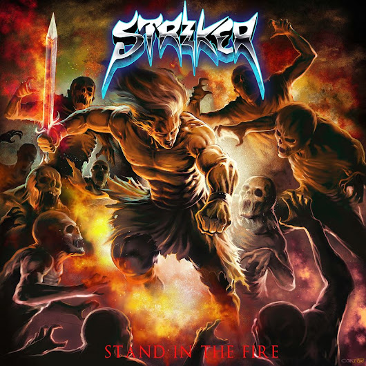 "Striker, vídeo con la letra de ""Locked In"""