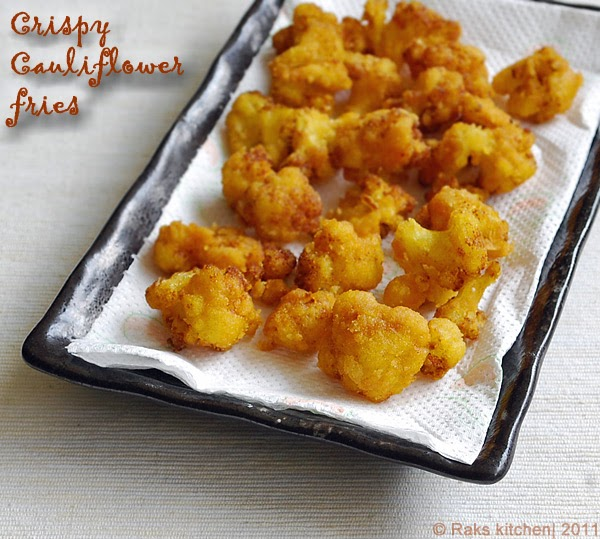 how to cook cauliflower fry