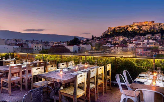 Kuzina in Athens serving delicious dishes with a view · Greek City Times