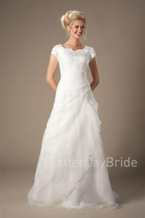 17 Best ideas about Modest Wedding Gowns on Pinterest