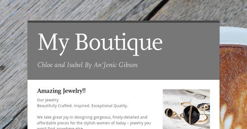 Visit My Boutique
